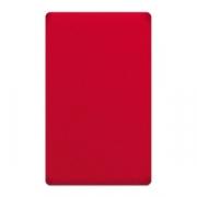 Доска раздел.60*40см красная, полиэтил.