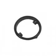 Фурнитура кнопки, пластик, D=20,H=4мм, черный