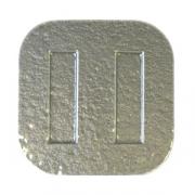 Тарелка квадр «Криэйшнс» 29*29см,стекл.