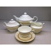 Сервиз чайный «Mедея» 17 предметов на 6 персон