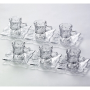 Набор 6 чашек + 6 блюдец