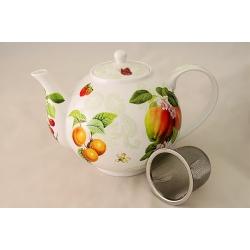 Чайник с ситечком «Фруктовый сад» 1,1 л