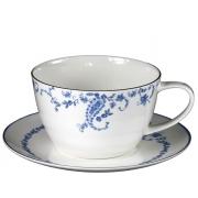 Пара чайная для завтрака 1 перс 2 пр Голубые цветы