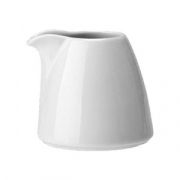 Молочник без ручки «Лиф»; фарфор; 85мл; белый