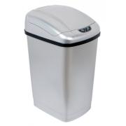 Ведро сенсорное для мусора 23 л серебристое