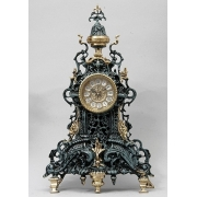 Часы цвет - синий 48х28см