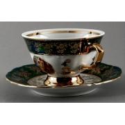 Набор для чая на 6 перс. 12 пред. «Мадонна зеленая»