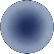 Тарелка мелкая «Экинокс» D=26, H=3см; синий