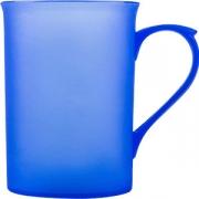 Чашка пластик; 350мл; оранжев.