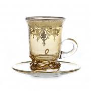Набор для чая на 150 мл. 6 перс. 12 пред. «Алессия»