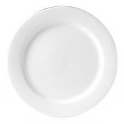 Блюдо «Монако Вайт»; фарфор; D=32см; белый