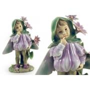 Статуэтка «Девочка - фея» (в капюшоне)