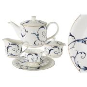 Чайный сервиз Элегия 21 предмет на 6 персон