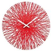 Часы настенные SILK Koziol ø45см (красный)