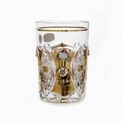Набор стаканов 280мл.6шт «Хрусталь с золотом»