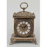Часы прямоугольные каштан 22х14 см.