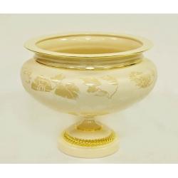 Декоративная ваза «Нефрит», керамика Высота 28 см, ширина - 30 см