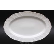 Блюдо овальное 36 см «Бернадот белый 311011»