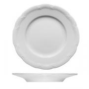 Тарелка мелкая «Штутгарт», фарфор, D=20см, белый