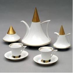 Кофейный сервиз «Обелиск» на 6 персон 9 предметов