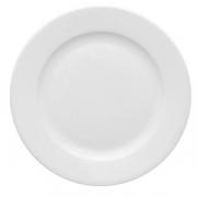 Тарелка мелкая «Кашуб-хел», фарфор, D=28см, белый