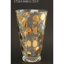 Ваза 25,5 см «золотой горох»