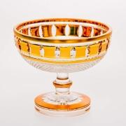 Ваза «Золотые окошки 31163» 15,5 см для конфет