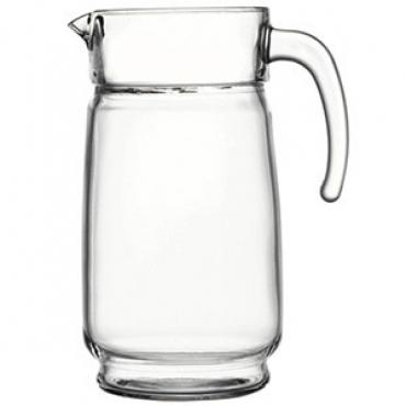 Кувшин с крышкой «Акватик» стекло, пластик; 1.65л