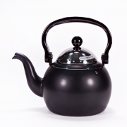 Чайник черный матовый 1,4л эмалированный