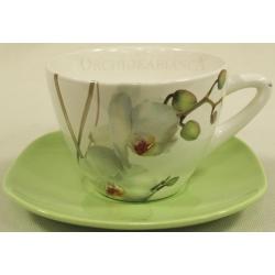 Чашка с блюдцем 0,3л «Орхидея»