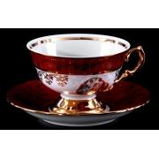 Набор для чая на 6 перс. 12 пред. «Мадонна красная»