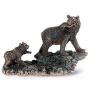 Статуэтка 23х11х15 см Медведица с медвежонком