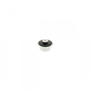 Кастрюля для сервировки с крышкой «Революшн» D=105, H=77мм; белый, черный