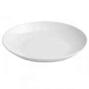 Блюдо «Купе», фарфор, D=300,H=44мм, белый