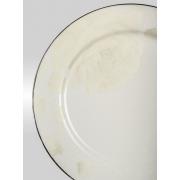 Набор закусочных тарелок «Бежевая роза» на 6 персон