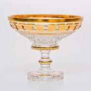 Ваза «Золотые окошки 60550» 15,5 см для конфет