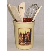 Подставка под кухонные инструменты «Итальянская деревня»