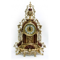 Часы с кубком комб. кожей 48х29 см.