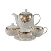 Сервиз чайный 17пр. на 6 персон «Золото Востока Касбах»