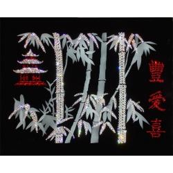 Пожелание благополучия, 40х50 см, 1811 кристаллов