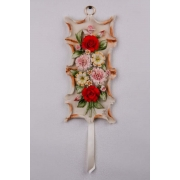 Картина декоративная 30x24x8 см, «Цветы»