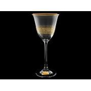 Бокал для вина «Флора» «Нижний кракелюр»
