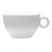 Чашка чайная «Бола», фарфор, 280мл, D=105,H=70,L=130мм, белый