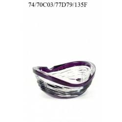 Пепельница фиолетовая 135