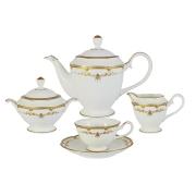 Чайный сервиз из 17 предметов на 6 персон Ожидание