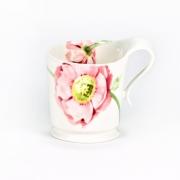 Кружка «Муг» 200мл «Розовый мак»