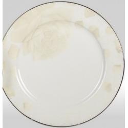 Набор подстановочных тарелок «Бежевая роза» на 6 персон
