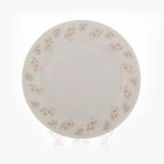 Блюдо «Цветы Рельеф золото» 32 см
