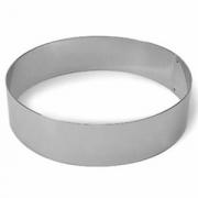 Кольцо кондитерское, сталь нерж., D=12,H=6см, металлич.