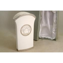 Ваза для цветов 23 см «Versace - platinum»